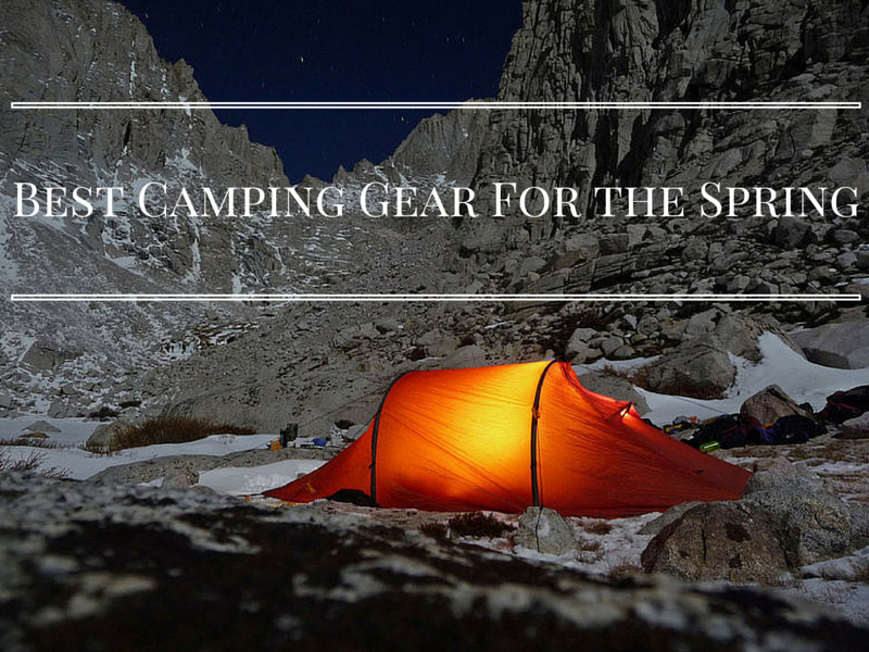 Life on the Road: The Best Camping Gear for Spring
