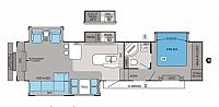 2012 JAYCO PINNACLE 36REQS