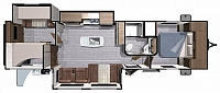2018 HIGHLAND RIDGE LIGHT LT312BHS