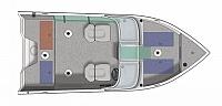 2019 CRESTLINER FISH HAWK 1650 SE WT