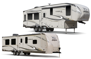 New Jayco Trailers at Smith's RV Centre