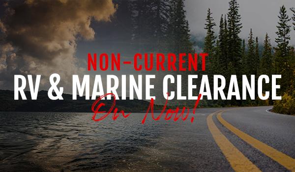 Non Current RV & Marine Sale