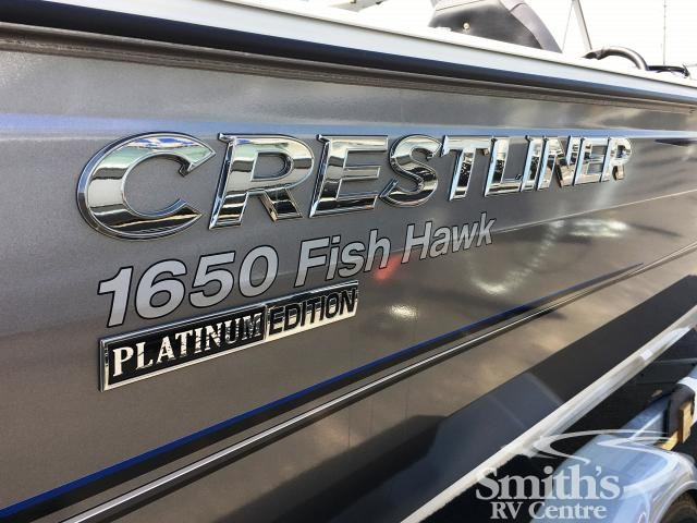 2018 CRESTLINER FISH HAWK 1650 WT